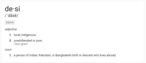 Desi definition