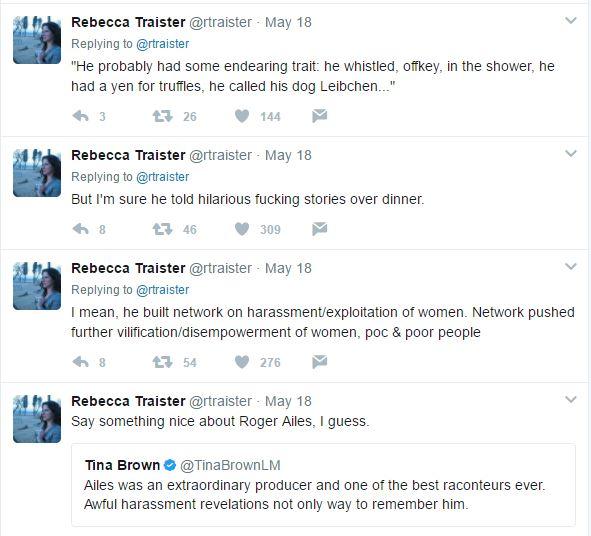 Traister Tweets