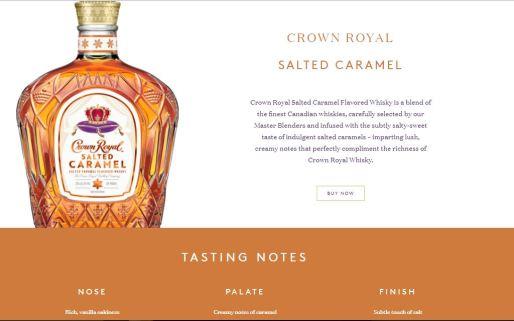 Salted Caramel Crown Royal
