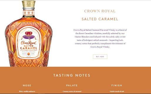 Salted Caramel Crown Royal